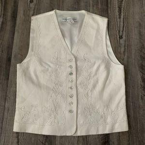 Women's Valerie Stevens Petite Vest